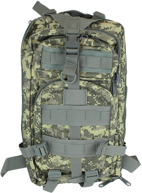 Commandos Military 3D Tactical Backpack, 3P Shoulder Bag 30L