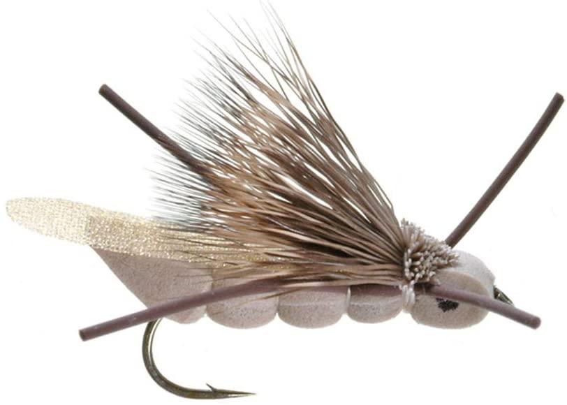 Umpqua Charlie Boy Hopper Tan Fly Fishing Terrestrials Multi-Packs