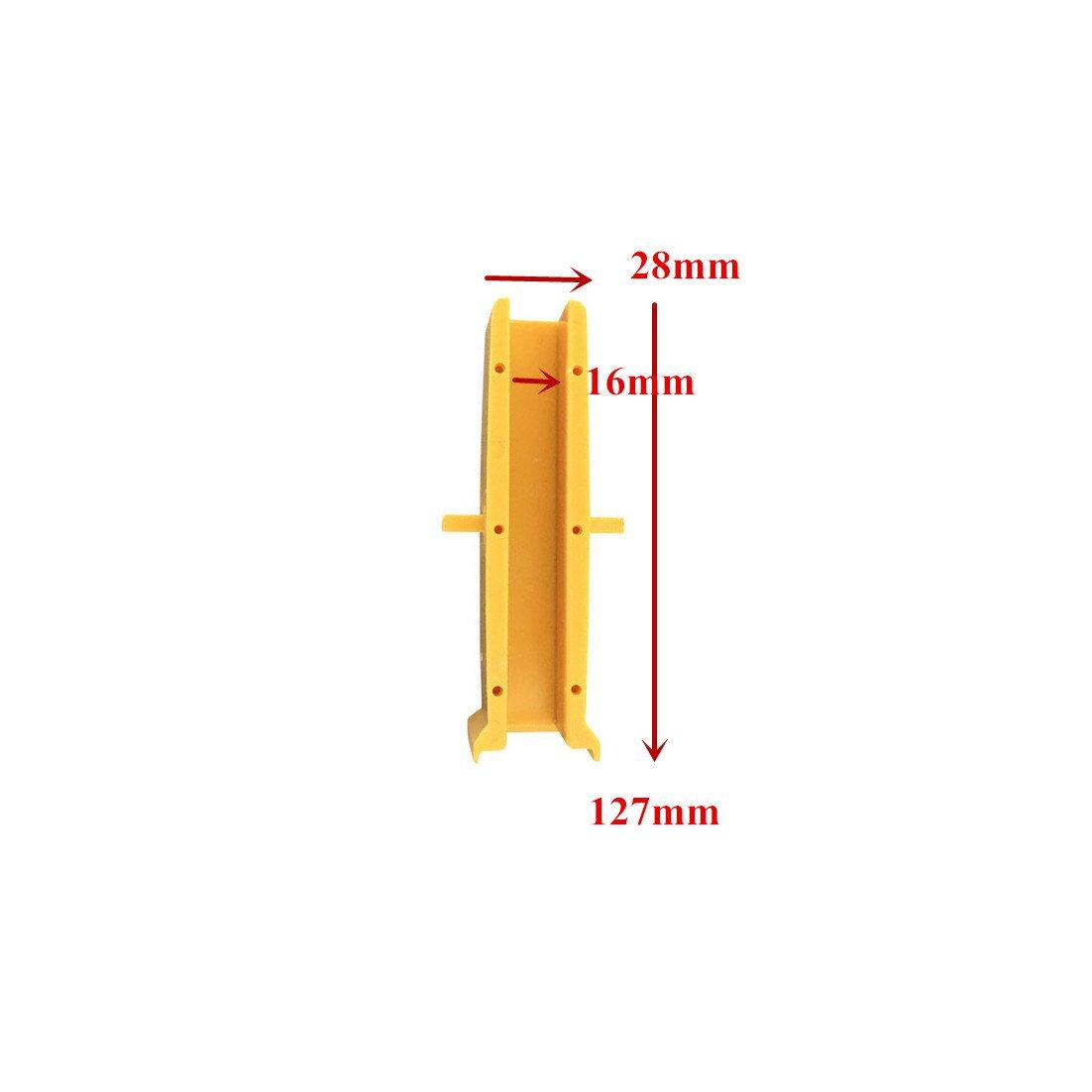 20pcs/ 1 Pack Elevator Guide Insert Length 127 Width 28mm Groove Width 16mm