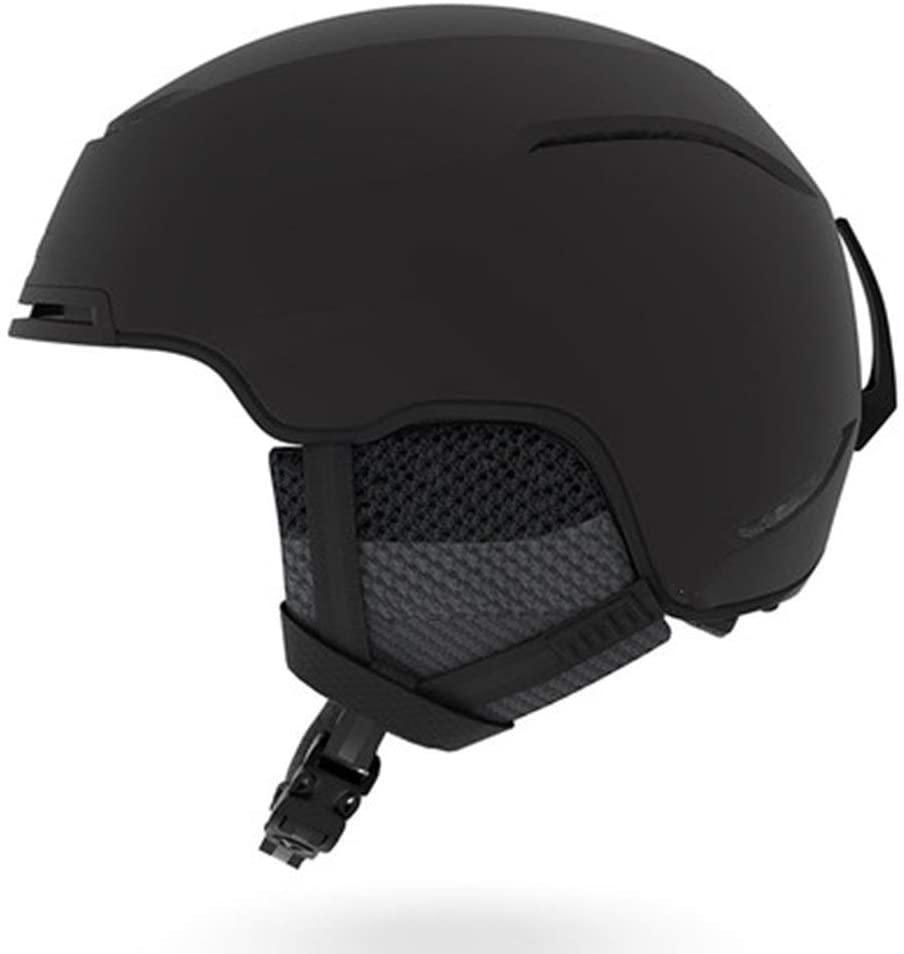 PUEEPDEE Ski Helmet Ski Helmet Double Helmet Ski Helmet Male Veneer Helmet Female Speed Universal Ski Helmet Snowboard Ski Helmet (Color : Black, Size : M)
