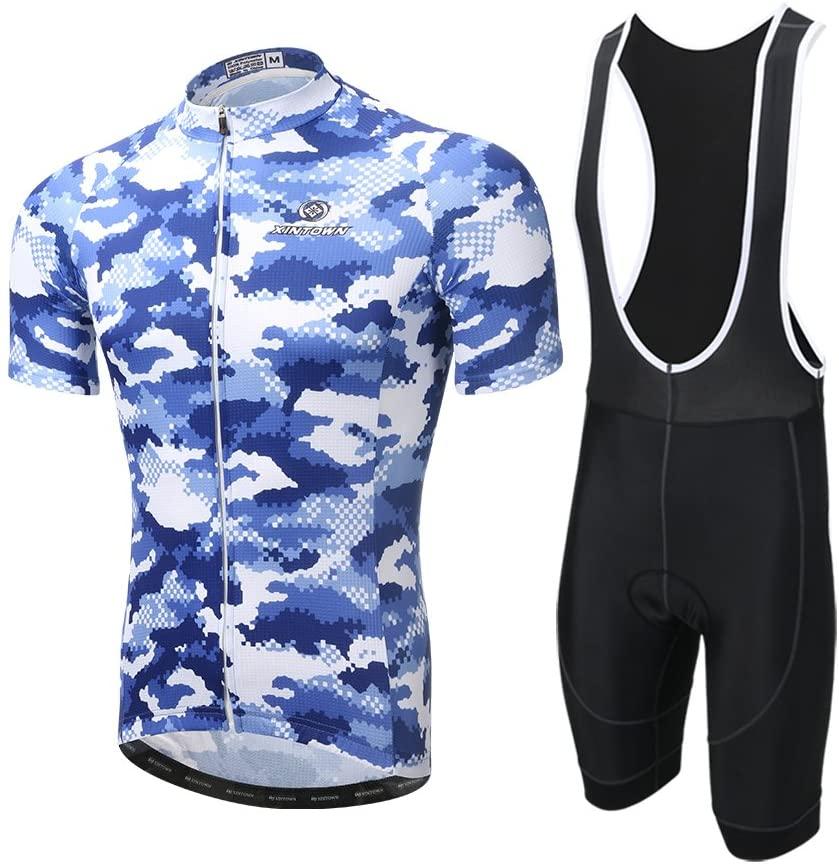 Xintown Cycling Jerseys Bicycle Maillot Men Cycling Shirts Clothing