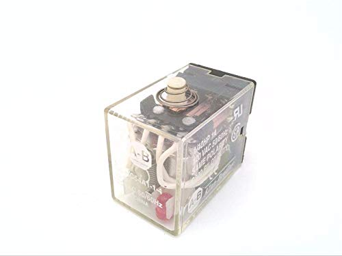 ALLEN BRADLEY 700-HC54A1-1-4 Discontinued by Manufacturer, Miniature (ICE Cube), W/Pilot Light Option, ON/Off Indicator, 120 V AC, Square Base, Relay, Manual Operator, 50/60 HZ, General Purpose, BLAD