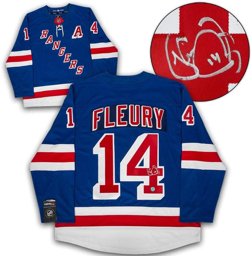 Autographed Theo Fleury Jersey - Fanatics Replica - Autographed NHL Jerseys