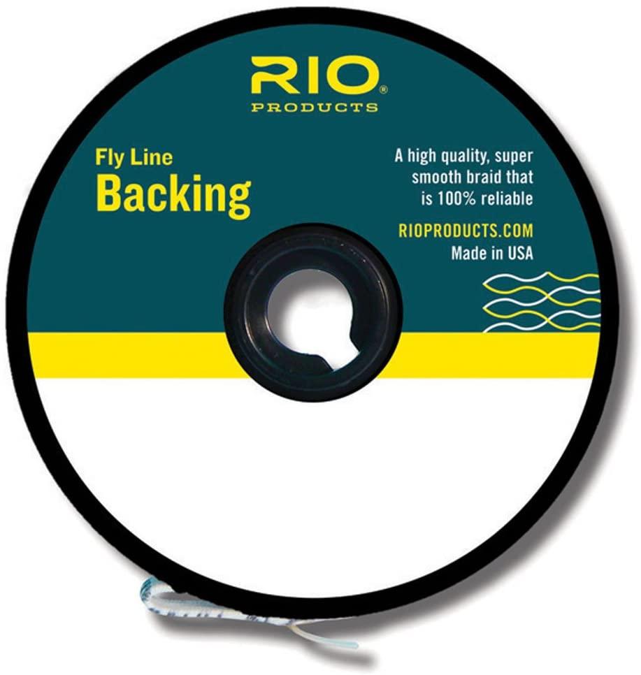 Rio Fly Fishing Backing Dacron 30Lb 5000 yd. Fly Tying Equipment, White