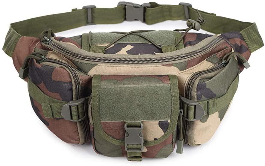 Sunnystacticalgear Outdoor Sports Hiking Versipack Running Waistpack Tactical Camouflage Molle Waist Bag Fanny Pack