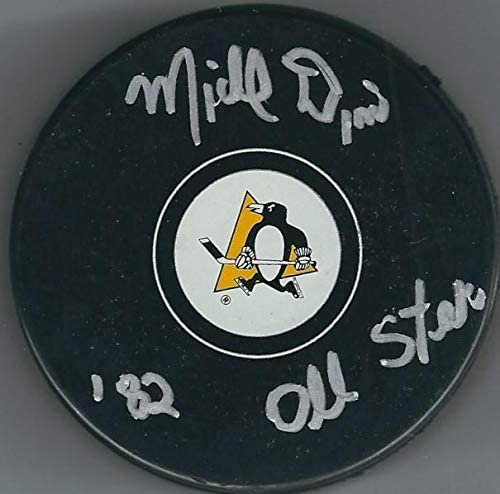 Michel Dion Autographed Hockey Puck - Autographed NHL Pucks