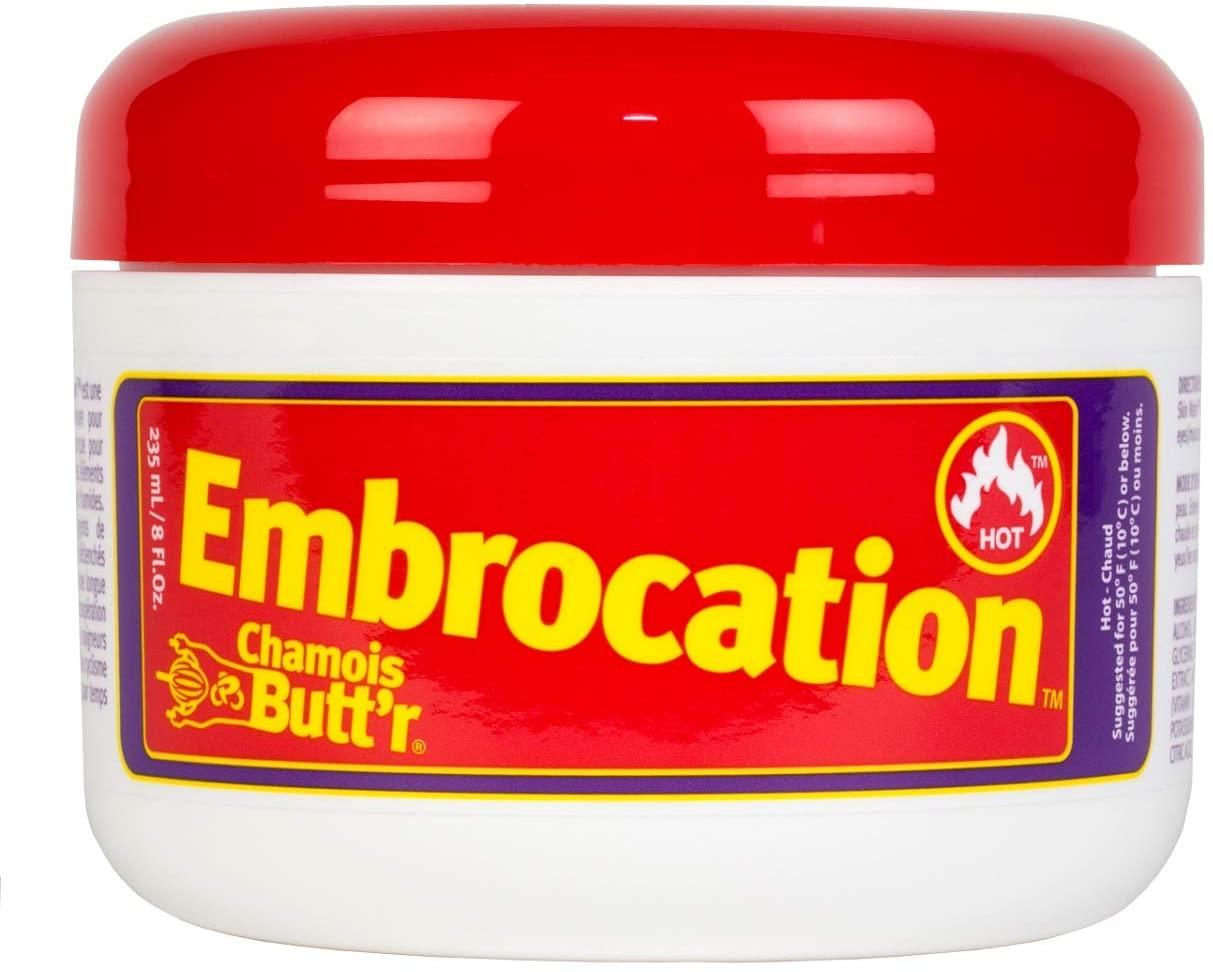 Chamois Butt'r Hot Embrocation 8oz jar