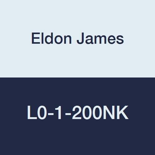 Eldon James L0-1-200NK Natural Kynar Equal 90 Degree Elbow, 1/16