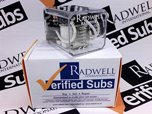 RADWELL VERIFIED SUBSTITUTE 2007182100USUB Relay - 24VDC, 13A 3PDT Plug in Relay- Replaces DELTROL Corp PN: 2007182100U