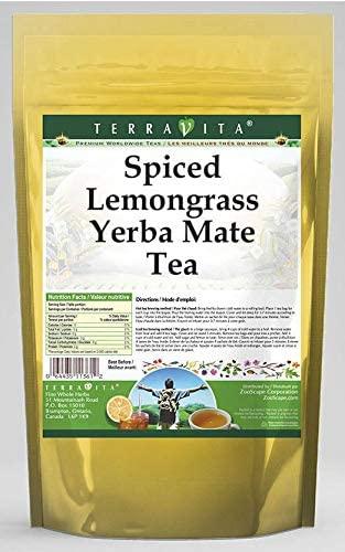 Spiced Lemongrass Yerba Mate Tea (50 Tea Bags, ZIN: 560691)