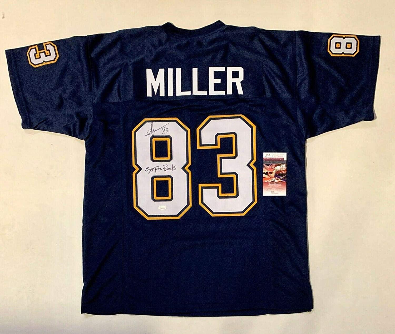 Anthony Miller Autographed Jersey - PRO STYLE 5X PRO BOWL w COA #WPP684410 - JSA Certified - Autographed NFL Jerseys