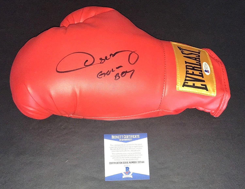 Oscar De La Hoya Signed Auto Everlast Boxing Glove Beckett Bas 4 Golden Boy - Beckett Authentication