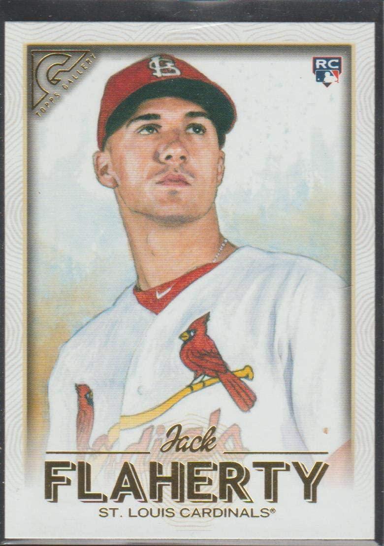 2018 Topps Gallery Jack Flaherty Cardinals Rookie Baseball Card #83