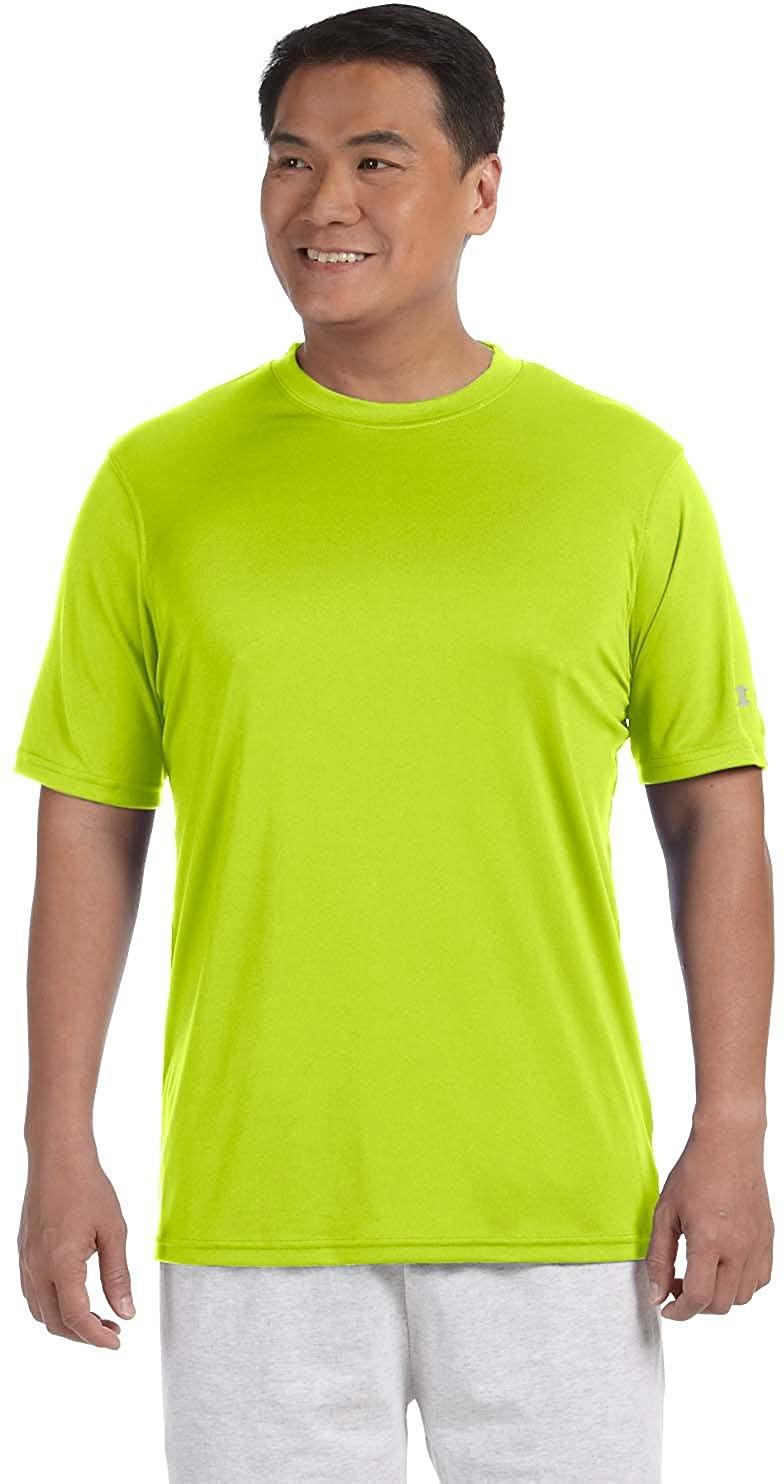 Champion Double Dry 4.1 oz. Interlock T-Shirt (CW22) Safety Green, L