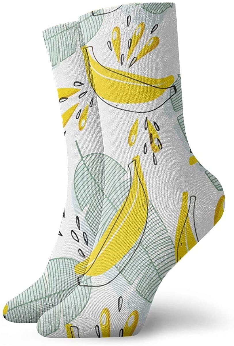 Game Life Crew Socks Blast Banana Men Women Sock Casual Socks