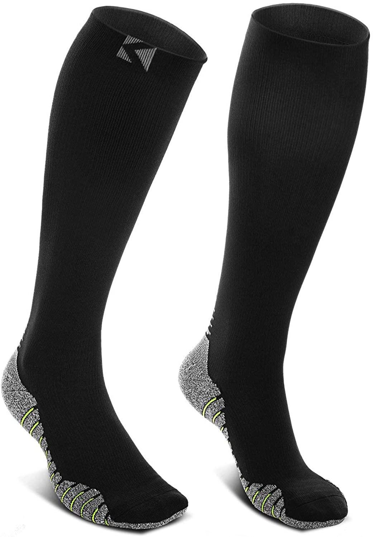 AERUZ Elite Performance Athletic Socks, Soccer Baseball Football, Designed to Enhance Performance