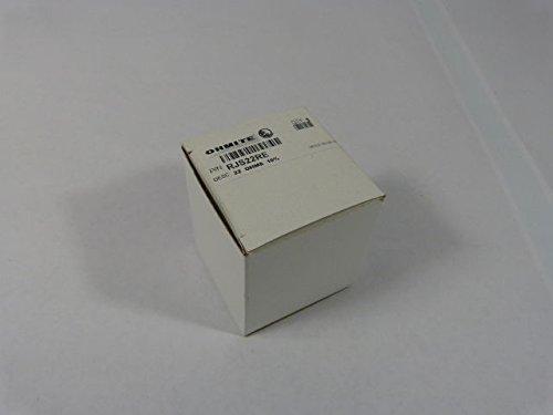 Rheostat, Wirewound, 22 ohm, 50 W, RJS Series, Panel, Screwdriver Slot