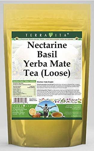 Nectarine Basil Yerba Mate Tea (Loose) (8 oz, ZIN: 562721) - 2 Pack