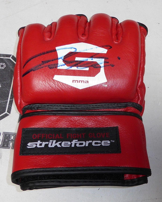 Cesar Gracie Signed Official StrikeForce MMA Fight Glove COA UFC Auto'd - PSA/DNA Certified - Autographed UFC Gloves