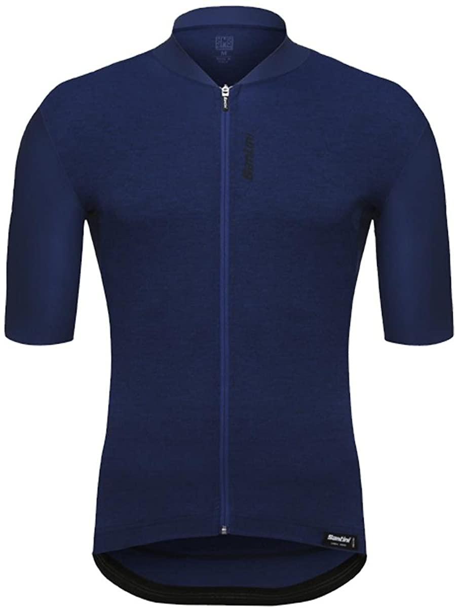 Santini Blue 365 Classe Short Sleeved Cycling Jersey
