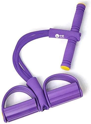 Sit Up Pull Rope Home Fitness Tummy Trainer Machine Elastic Pull Rope Abdomen Waist Arm Leg Tummy Stretching Slimming Yoga