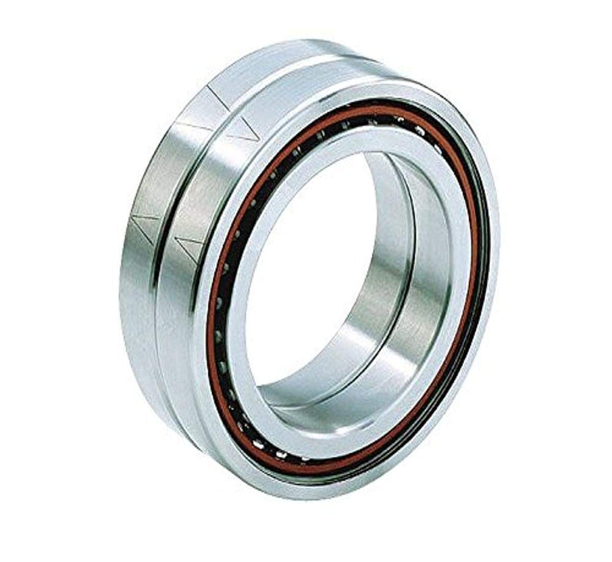 Barden Bearings C206HCRRDUL Pair Ball Bearings, Ceramic, Spindle, Angular Contact, Light Preload, Contact Angle 15°, 30 mm ID, 62 mm OD, 62 mm Width, Double Seal (Pack of 2)