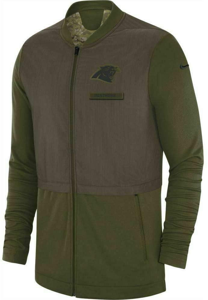 Nike Carolina Panthers Salute to Service Men's Hybrid Jacket
