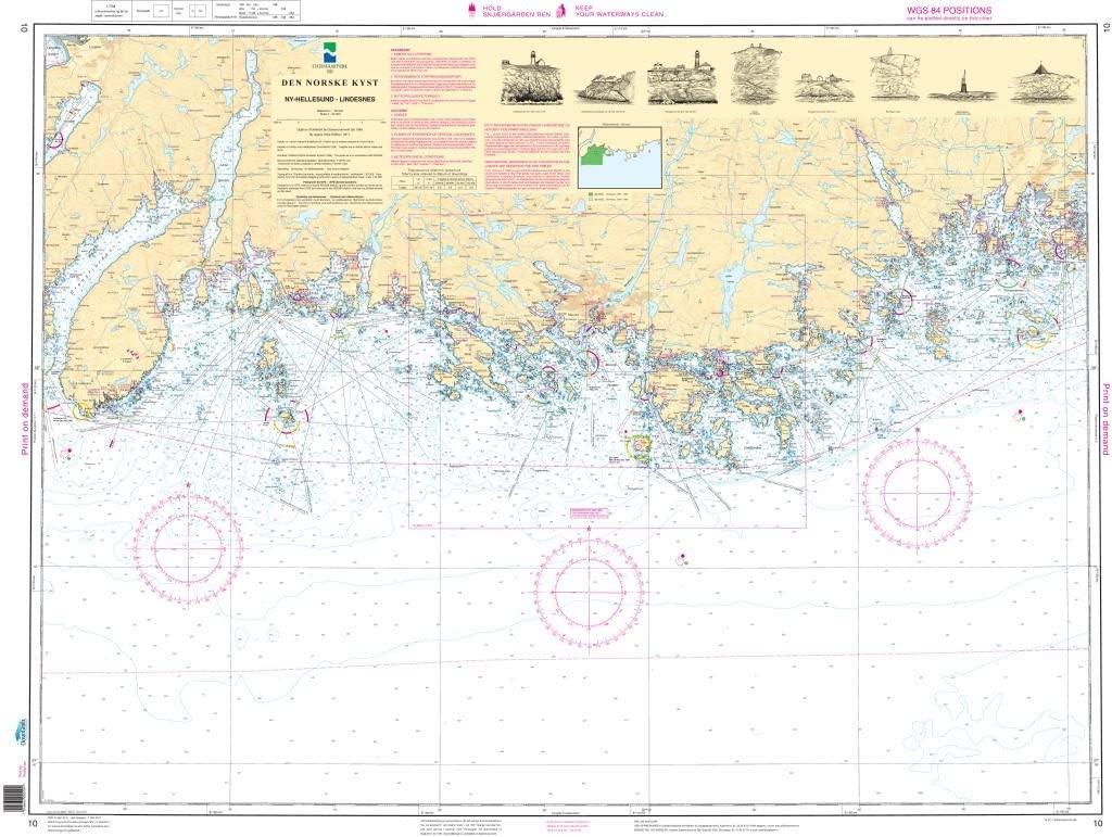 NHS Chart 10: Ny-Hellesund - Lindesnes
