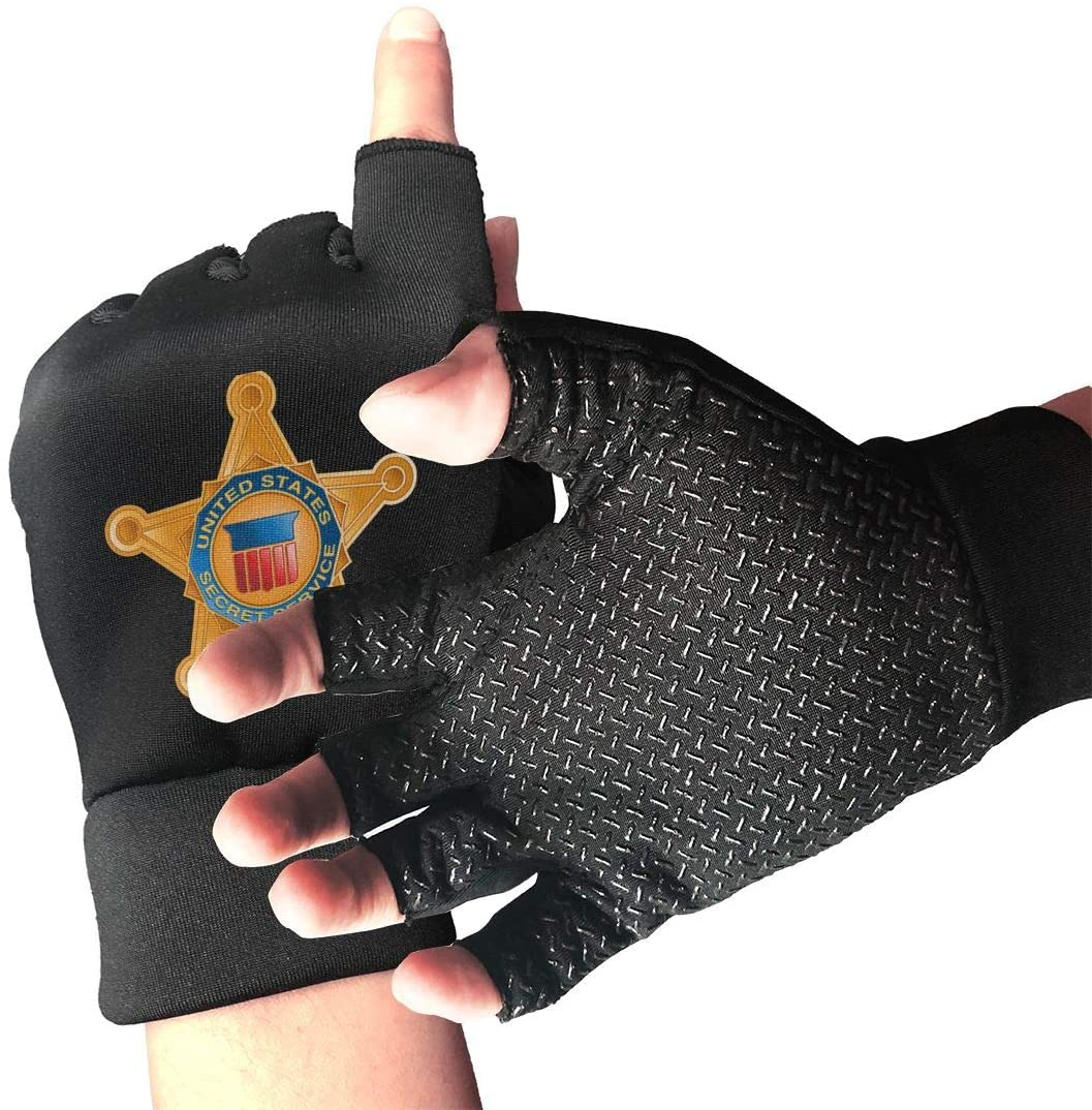 Area 51 Security Department2 Unisex 3D Printing Mitten Full Palm Protection, for Weightlifting