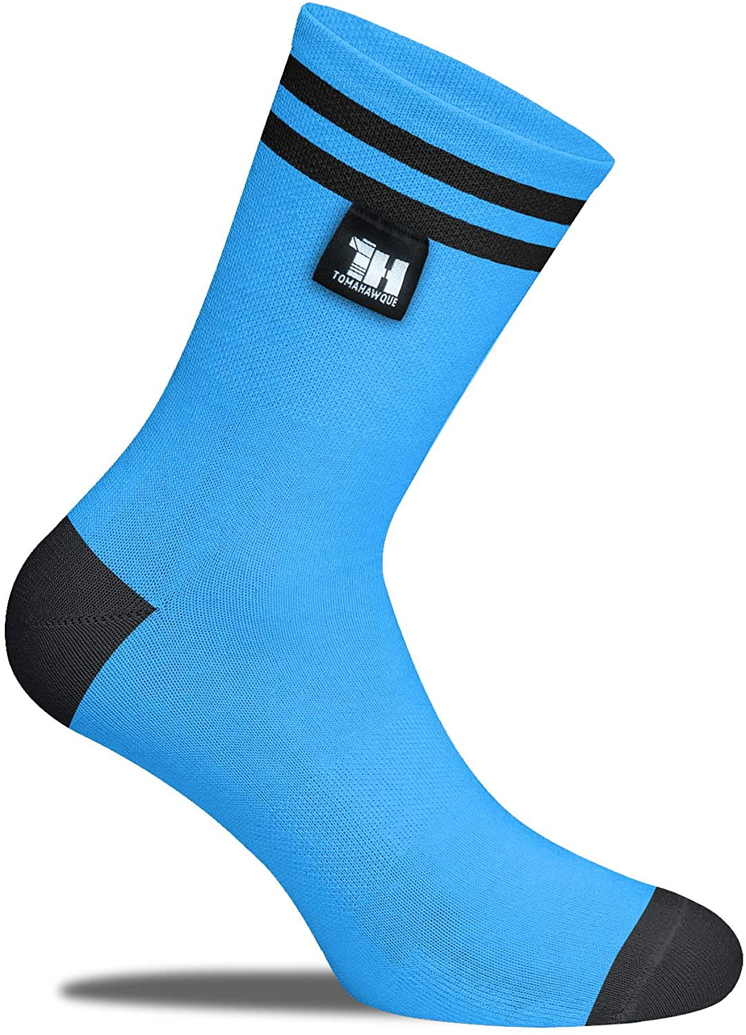 Tomahawque 100% Waterproof, Sweatproof, and Breathable Crew Socks   Perfect for Hiking, Trekking, Performance & Outdoor