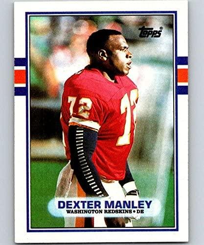 1989 Topps #262 Dexter Manley Redskins NFL Football