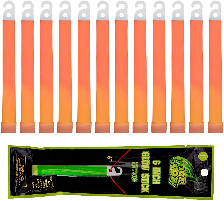 Wealers 12 Pack Light Sticks - 6