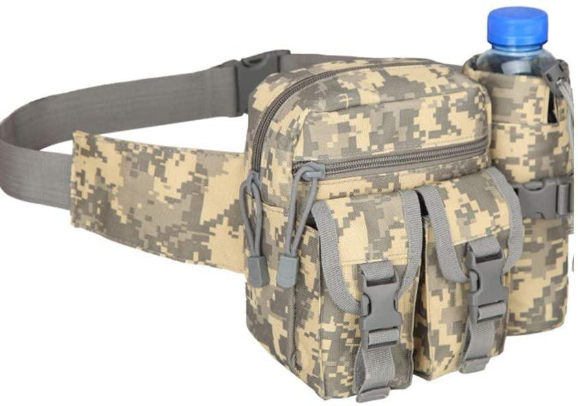 Outdoor Sports Hiking Versipack Running Waistpack Tactical Camouflage Waist Bag Fanny Pack