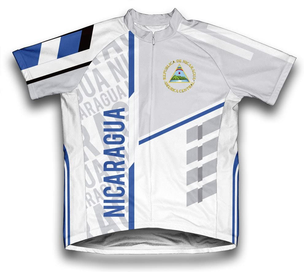 ScudoPro Nicaragua Short Sleeve Cycling Jersey for Men