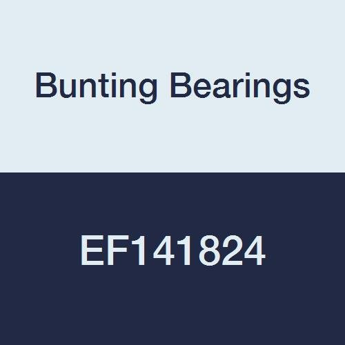 Bunting Bearings EF141824 Flanged Bearings, Powdered Metal, SAE 841, 7/8