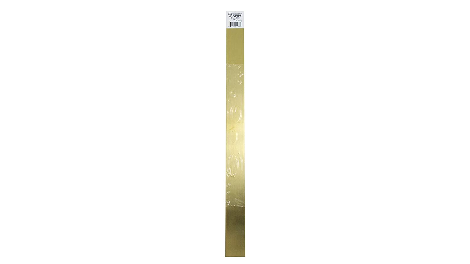 K&S Precision Metals 8237 Brass Strip, 0.025