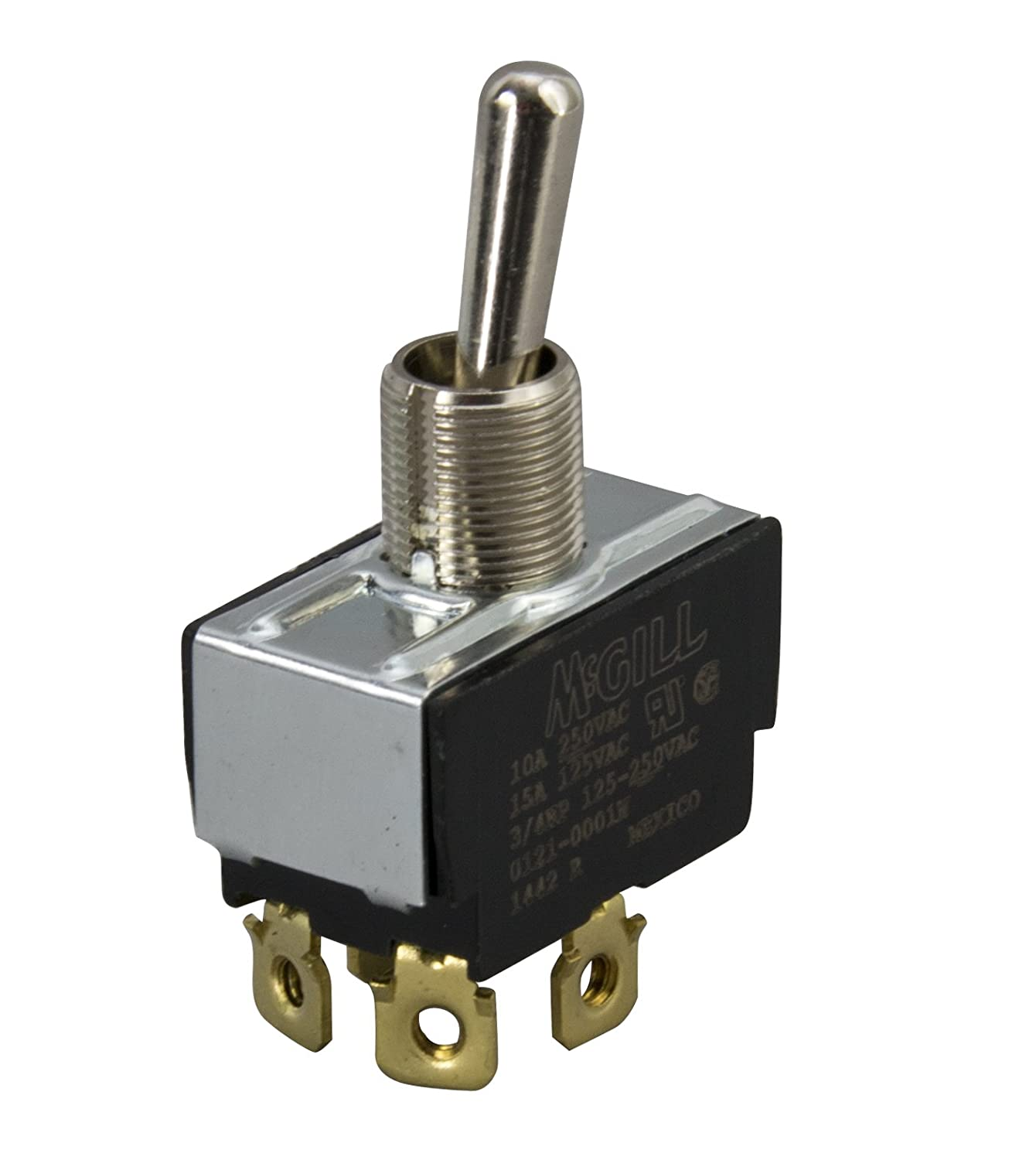 MCGILL 01210001N DPST, Screw Terminal, Toggle Switch