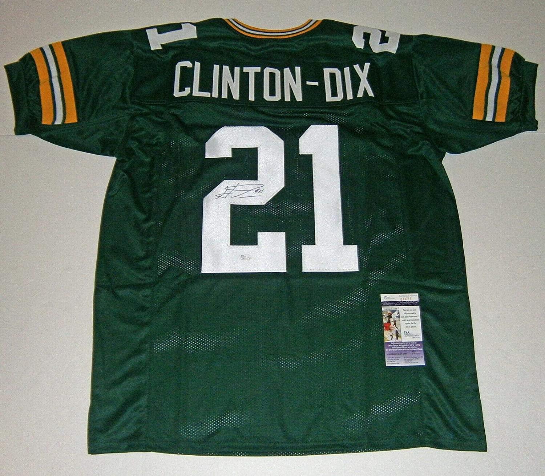 (2) PACKERS Ha Ha Clinton-Dix & Josh Jones signed custom jerseys COA AUTO - JSA Certified - Autographed NFL Jerseys
