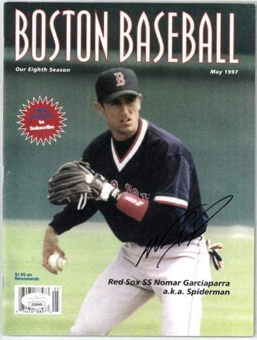 Nomar Garciaparra signed Boston Red Sox Baseball Full Magazine May 1997#5- #EE60440 (no label) - JSA Certified