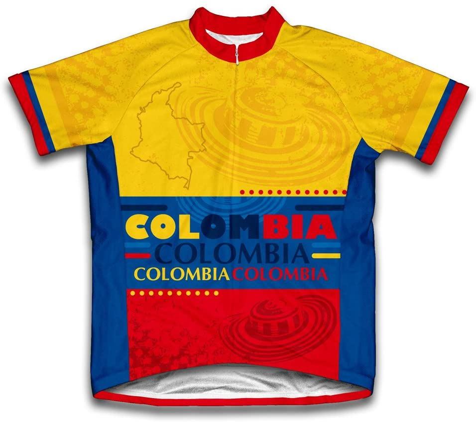 ScudoPro Colombia Short Sleeve Cycling Jersey for Youth
