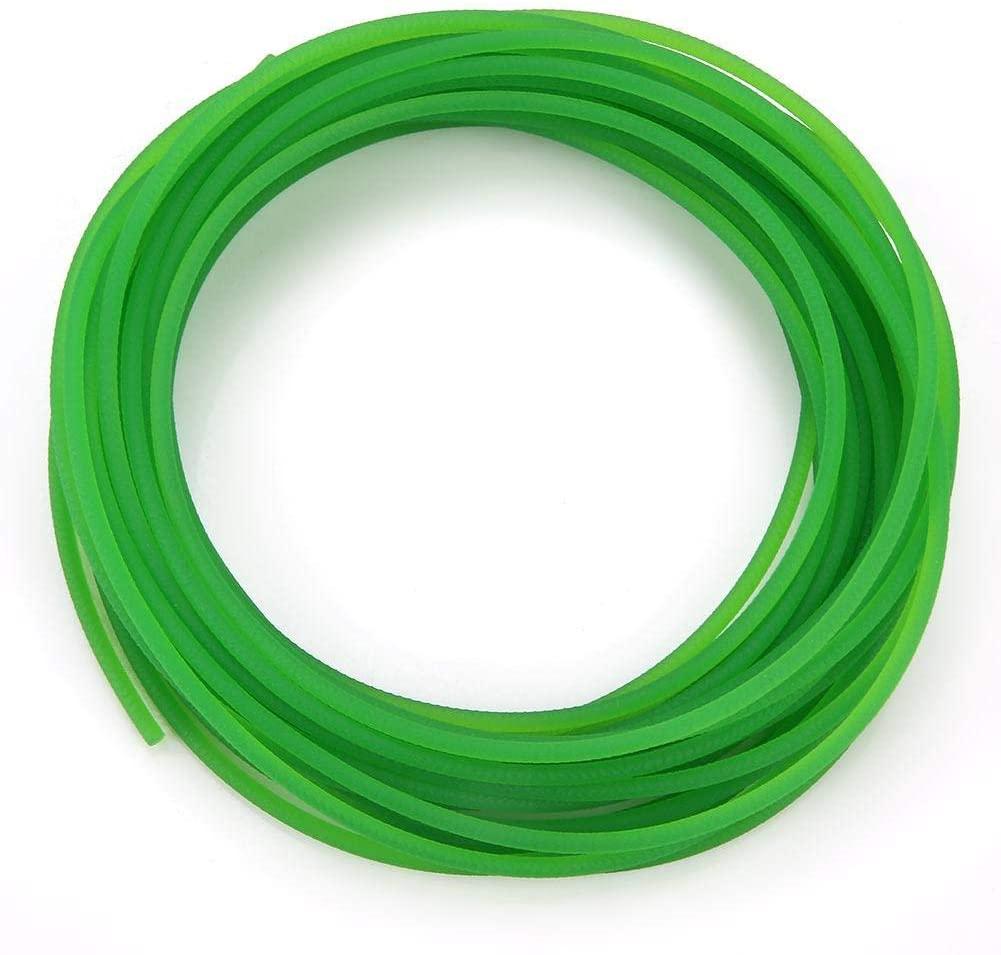 Yosoo Health Gear Polyurethane Round Belt, Transmission Belt High-Performance Urethane Round Belting PU Polyurethane Round Belt for Drive Transmission Best Choice(3mm10m)