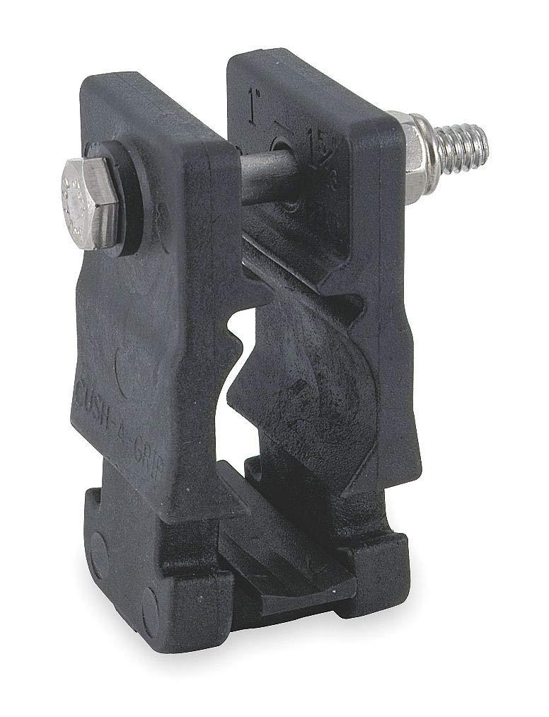 ZSI CG-30 Cushion Clamp, Pipe 1/2in, Multi Tube Size