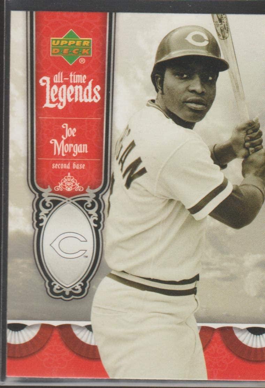 2006 Upper Deck Joe Morgan Reds All Time Legends Baseball Card #ATL-7