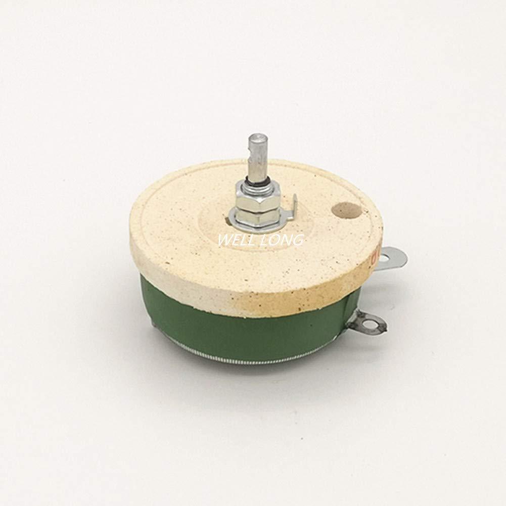 100W 1 OHM High Power Wirewound Potentiometer, Variable Resistor,Rheostat, 100 Watts.