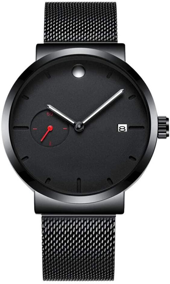 JDG666 Watch Men's Student Steel Belt Simple Casual Fashion Trend Business Waterproof Quartz