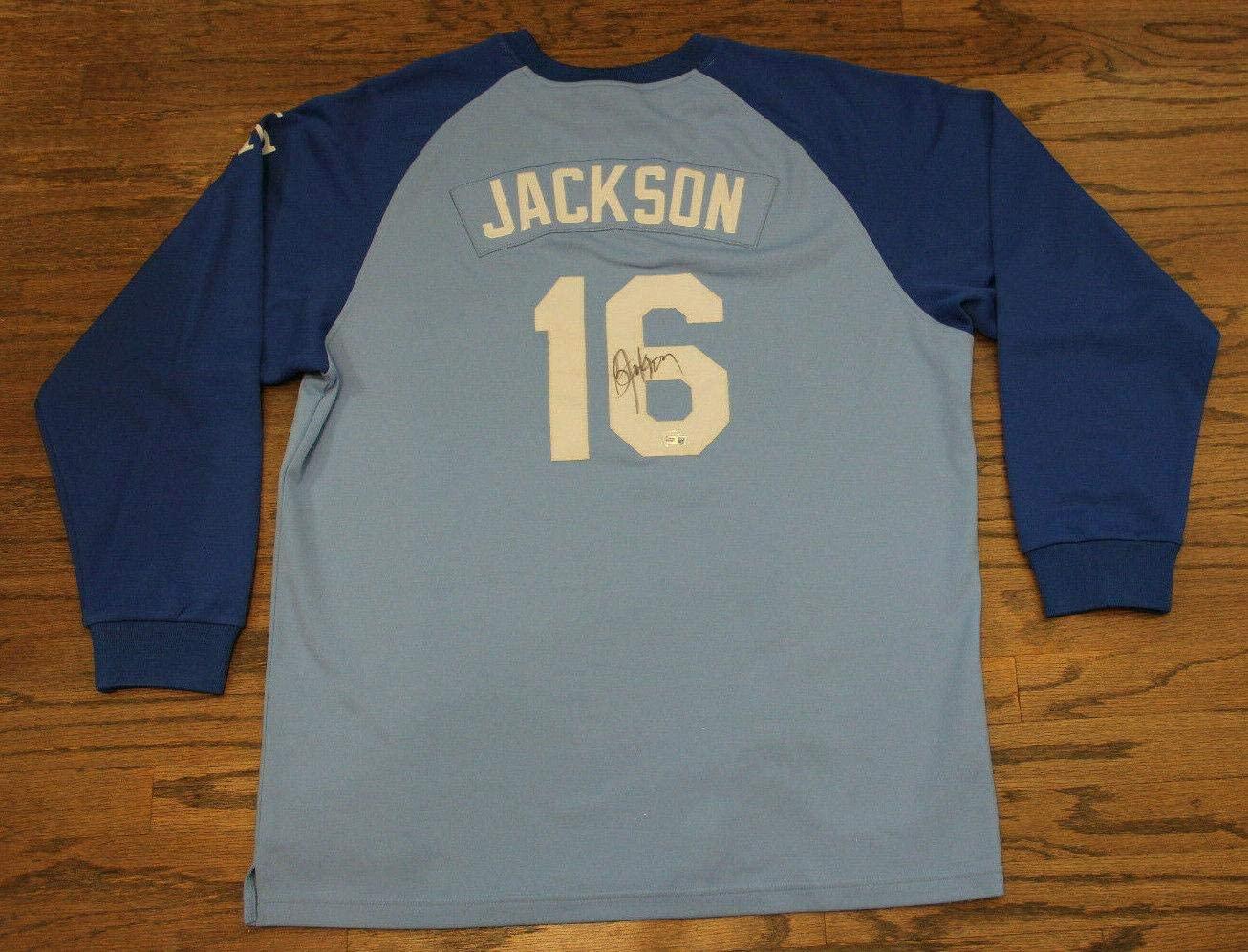 Bo Jackson Signed Jersey - Fanatics #a029962 - Fanatics Authentic Certified - Autographed MLB Jerseys