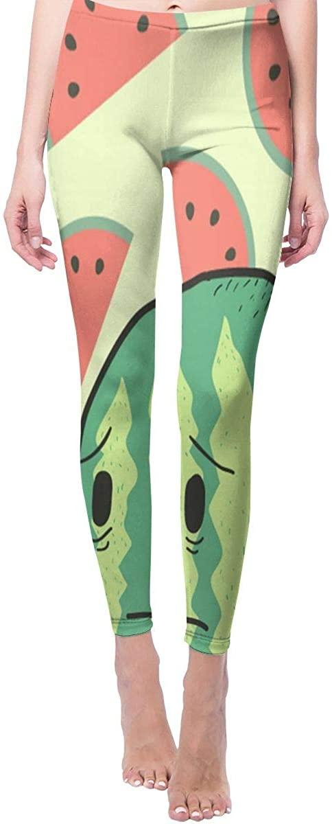 Ruin Yoga Pants Tearful Watermelon High Waist Skinny Leggings Sweatpants