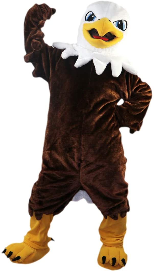 Langteng Brown Eagle Bird Cartoon Mascot Costume Real Picture 15-20days delivery Brand