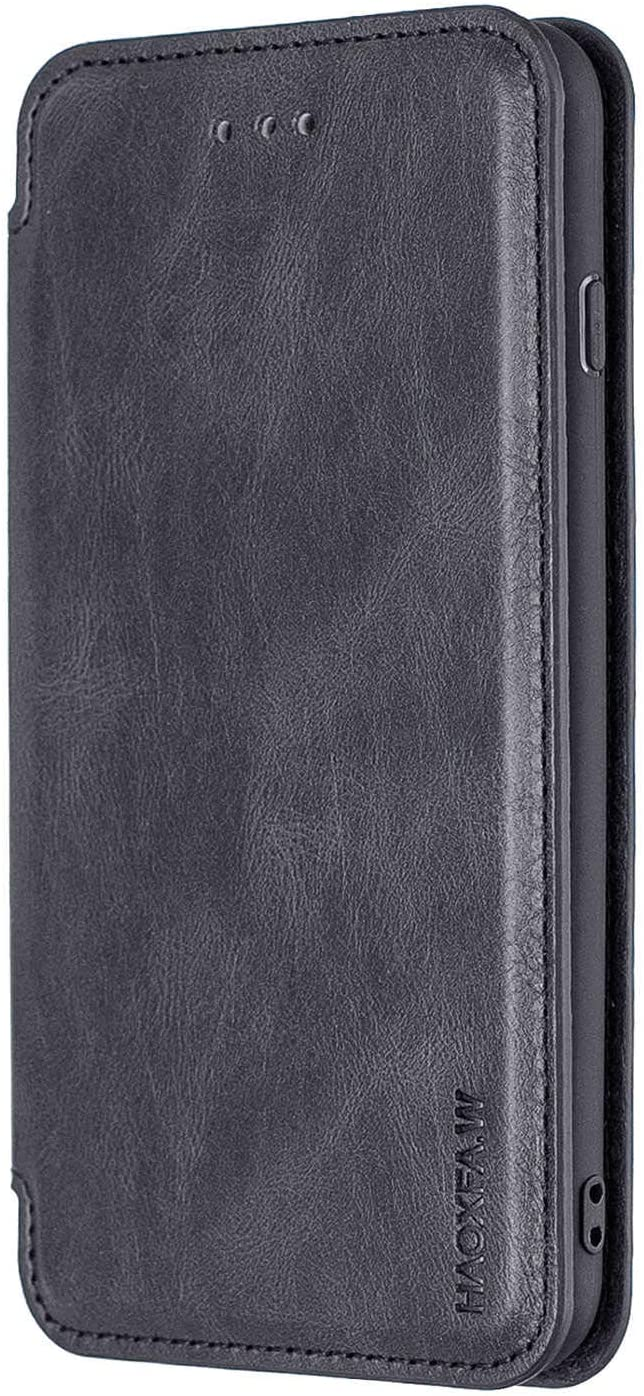 WiseSwim Simple-Style Leather Case for iPhone 8, Flip Cover fit for iPhone 8 Business Gifts