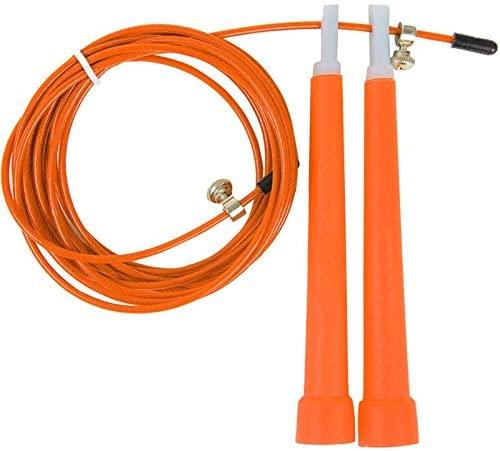 CHRNG Sunnylemon Tangle Free with Ball Bearing Rapid - Adjustable Jump Ropes for Self-Locking Aluminum Skipping Ropes